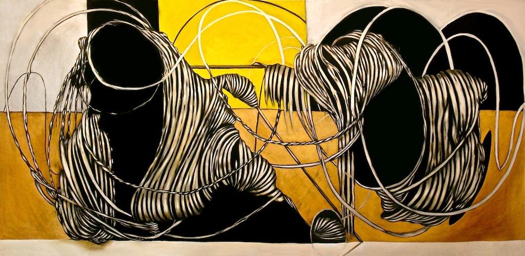 oli on canvas 135 x 270 cm - 2011